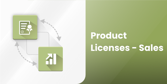 Product Licenses - Sales