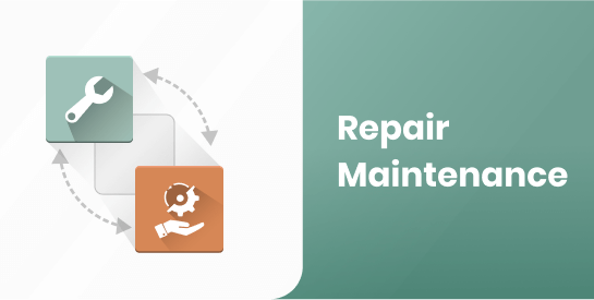 Repair Request with Maintenance Schedule